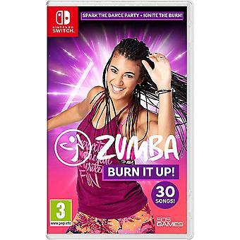 Zumba Burn It Up Nintendo Switch Jeu