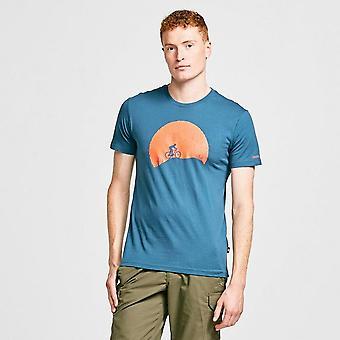 Nuevo Dare 2B Hombres's Determinar camiseta casual azul / blanco