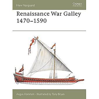 Renaissance War Galley 1470-1590 (New Vanguard) [Illustrated]
