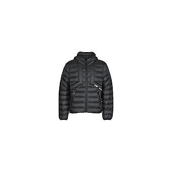 Diesel W-dwain Puffer Hooded Black Jacket