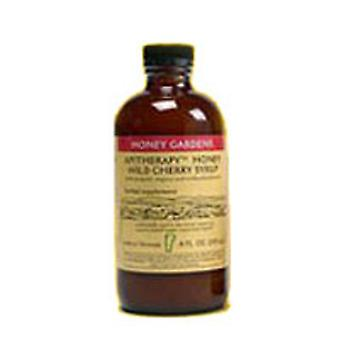 Honey Gardens Apiaries Cough Syrup Apitherapy Cherry, 4 Oz