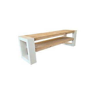 Wood4you - Schuhschrank New Orleans - Eiche 160Lx38Dx45H