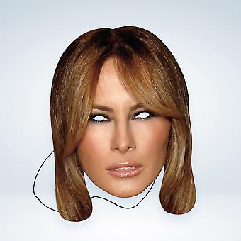 Masque-arade Melania Trump Célébrités Party Face Mask