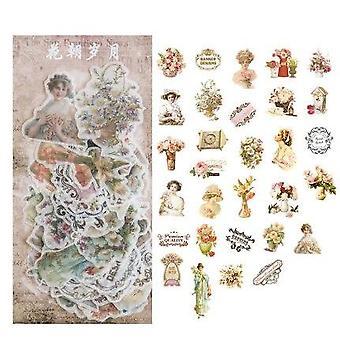 秋の花弾丸ジャーナル - 装飾、日記、文房具、アルバム、フレーク
