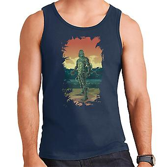 The Creature From The Black Lagoon Full Body Seaweed Men's Vest