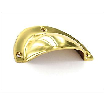 Securit Drawer Pull Brass 90mm S2662