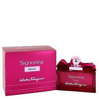 Signorina Ribelle By Salvatore Ferragamo Eau De Parfum Spray 3.4 Oz (naiset) V728-547245