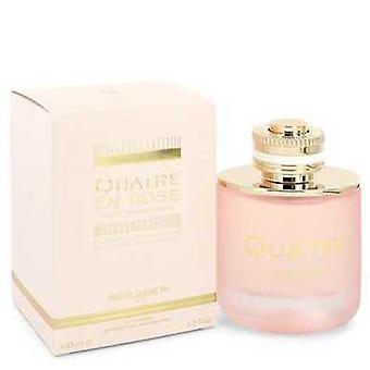 Quatre En Rose Florale por Boucheron Eau De Parfum Spray 3.3 Oz (mujeres) V728-545858