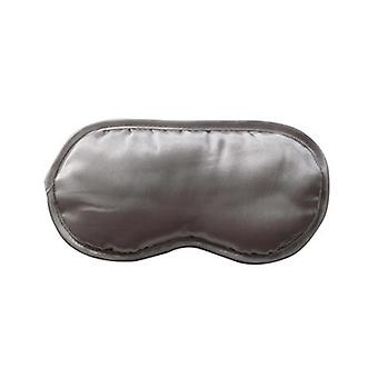 Danielle Sleep Well Elegant Silver Grey Satin Eye Mask