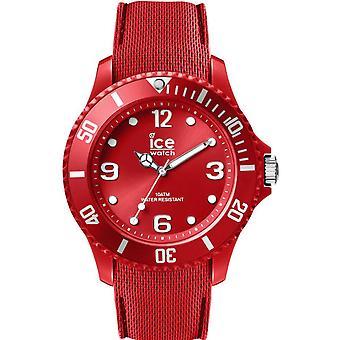 Reloj reloj hielo sesenta nueve 007267 - tamaño L silicona rojo hombre