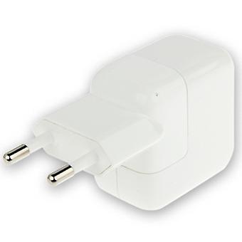 מתאם מטען USB באיכות גבוהה של האיחוד האירופי 5V 2A, עבור iPad, iPhone, גלקסי, Huawei, Xiaomi, LG, HTC וטלפונים חכמים אחרים, התקנים נטענים (לבן)