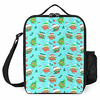 Christmas Holiday Robin Birds Printed Lunch Bags