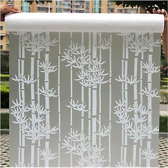 Frosted Opaque Glass Window Film 45cmx100cm For Window Privacy - Adhesive Glass