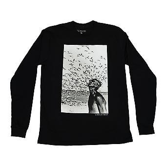 Jacques cousteau long sleeve - black
