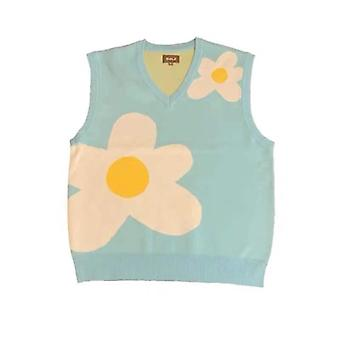 Men Luxury Golf Flower Le Fleur Tyler Creator Knit Casual Sweater Vest