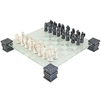 Dragon Glass Chess Set