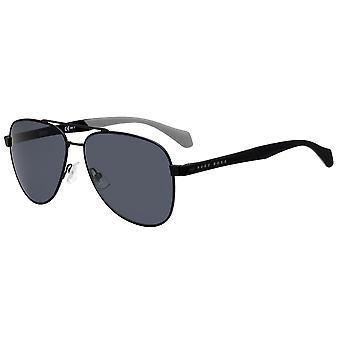 Hugo Boss 1077/S 003/IR Matte Black/Grey Sunglasses