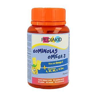 Pediakid omega 3 jelly beans (lemon flavor) 138 g (Lemon)