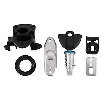 Rear Passenger, Seat Lock & Bracket Key, Safety Side Box Lock For Motorcycle