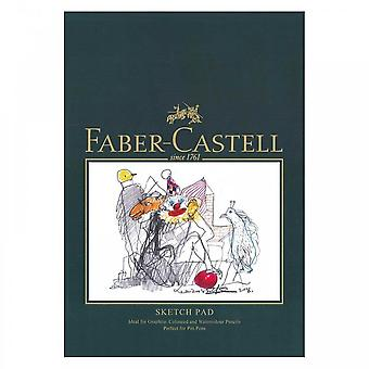 Faber-castell konst & grafisk skiss pad, a5 160 gsm pad av 40 ark a&g skiss pad