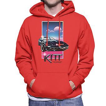 Knight Rider Knight Industries två tusen män&apos,s Hooded Tröja