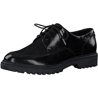 Low Heels Casual Navy Pat Wildleder