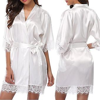 Nachtkleid Satin Robe