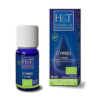 Cypress Provence Essential Oil (cupressus sempervirens) Organic 10 ml of essential oil