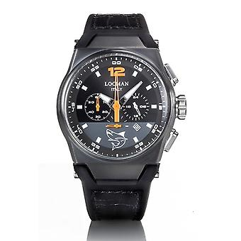 Locman wristwatch NUOVO MARE 0555K01S-BKBKORGPK
