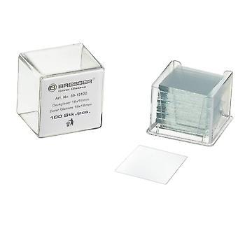Bresser 5915100 Mikroskopzubehör Abdeckung Gläser (100 Stk.)
