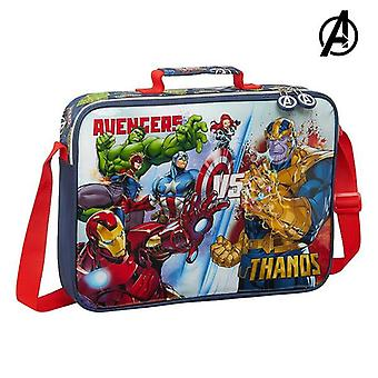 Briefcase the avengers heroes vs thanos navy blue (6 l)