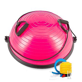 Home Gym 58CM Balance Ball Yoga Pilates Fitness Wobble Board Exercise With Pump