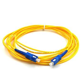 Sc Upc Duplex Single Mode Fibre Patch Kábel kábel jumper 3m