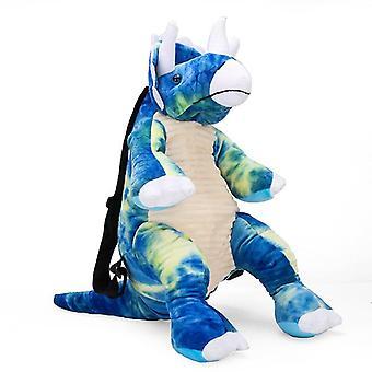 Overlon sininen lapset's vauvan pehmen lelu pieni koululaukku reppu sarjakuva laukku