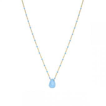 Clyda kvinnors smycken BCLCO0005SD Halsband - Dor Steel