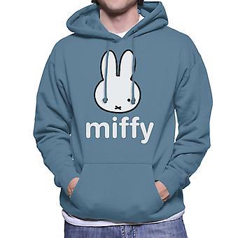 Nijntje Character Head Men's Hooded Sweatshirt