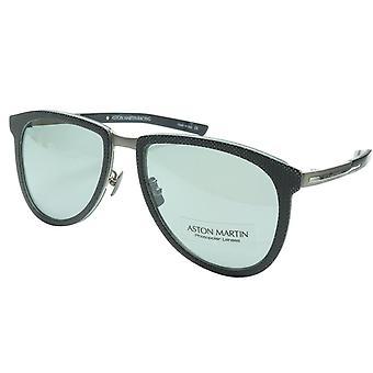 أستون مارتن سباق النظارات الشمسية AMR75002 01 التيتانيوم الكربون إيطاليا 57-18-145 46