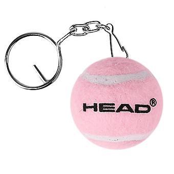 Head, Keychain - Padelball - Pink