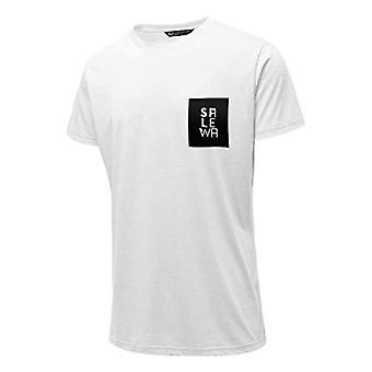 Salewa Nidaba Dri-Rel M S/S T-Shirt, Men's, White, 48/M