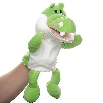 Crocodile Hand Puppets Animal Toy for Imaginative Play, Storytelling, Teaching, Role-Play