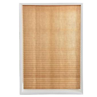 Self-adhesive Pleated Blinds Half Blackout Windows Curtains