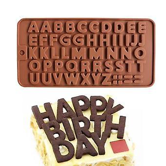 Chocolate Shape, Letters, Alphabet - Ice Shape, Pralinform