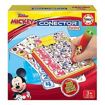 Educatief Spel Educa Conector Junior Mickey & Minnie