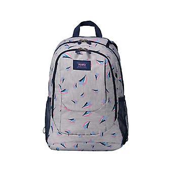 "School Bag Totto Goctal 14"" Grey (44 X 33 x 18 cm)"