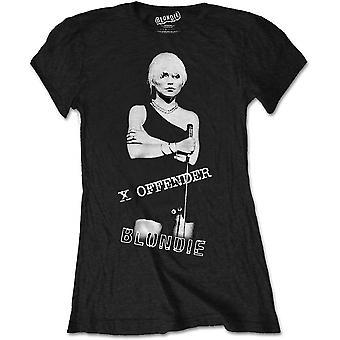 Blondie - X Offender Women's Medium T-Shirt - Black