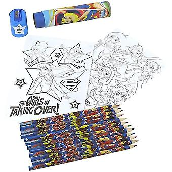 Pyramid International DC Superhero Girls Official Stationery Set