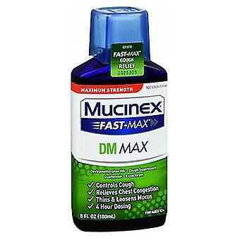 Mucinex Mucinex Fast-Max Dm Adult Liquid, 6 oz