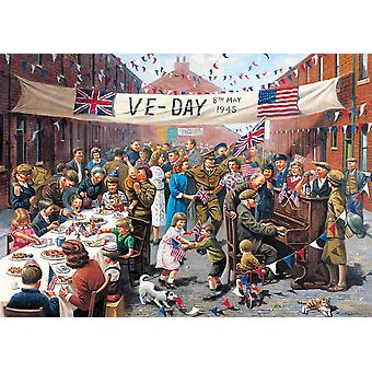 Gibsons VE Day Jigsaw Puzzle (500 Pieces)