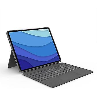 Combo Touch iPad Pro 12,9 (5. Gen - 2021) Keyboard Case - Abnehmbare Tastatur mit