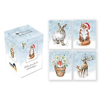 Wrendale Mini Boxed Christmas Cards